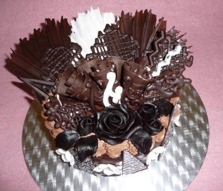 Čokoládový dort III.